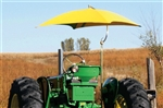 "Snowco TU-56 Deluxe 54"" Tractor Umbrella Canvas Replacement Cover ONLY - Yellow."