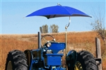 "Snowco TU-56 Deluxe 54"" Tractor Umbrella Complete - New Holland Blue Canvas Cover."