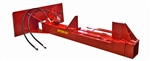 SplitFire Skid Steer Log Splitter 4207 with 23 Ton and Two Way Splitting Wedge