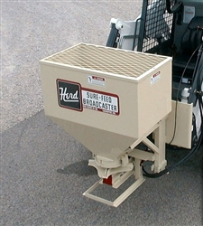 Herd Kasco Model 750SSS Wet Sand Spreader 1200 lb. Capacity for Skid Steers.