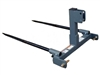 Worksaver HS-3000 Dual Bale Spear for Tractors 3 Pt Hitch/Round Hay Bales 830775