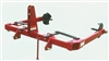 Worksaver HHU-2045 3 Point Hay Handler/Unroller 3 Pt Hitch/Round Hay Bales 831340