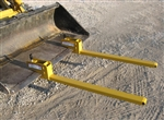 Worksaver BF-2000 Clamp-on Bucket Pallet Forks 831930