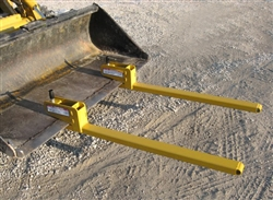 Worksaver BF-1000 Clamp-on Bucket Pallet Forks 831950
