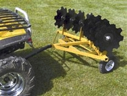 Worksaver FOD-16 Flip Over Disc Harrow for ATV's & Garden Tractors 940420.