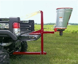 The Herd Mounting Carton JPH-1 is used to mount the Herd Sure-feed Broadcaster GT-77-ATV Seeder/Spreader.