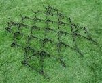 Quality Single Tine Chain Harrow 4 ft x 5 ft 6""