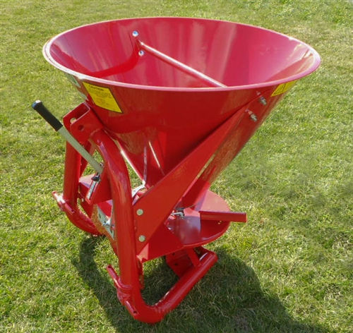 Tractor Seed Spreader Parts : Agrex tractor three point hitch spreader model xa