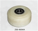 "Tanco 4"" Support Wheel Assembly Z06-466WA."