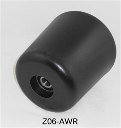 Tanco End Roller BWBI, part # Z06-AWR. This Plastic Cone Roller is used on the Tanco Turntable.
