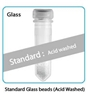 Prefilled  2.0 ml tubes, Silica (Glass) Beads, 0.5mm Acid Washed, 50 pk