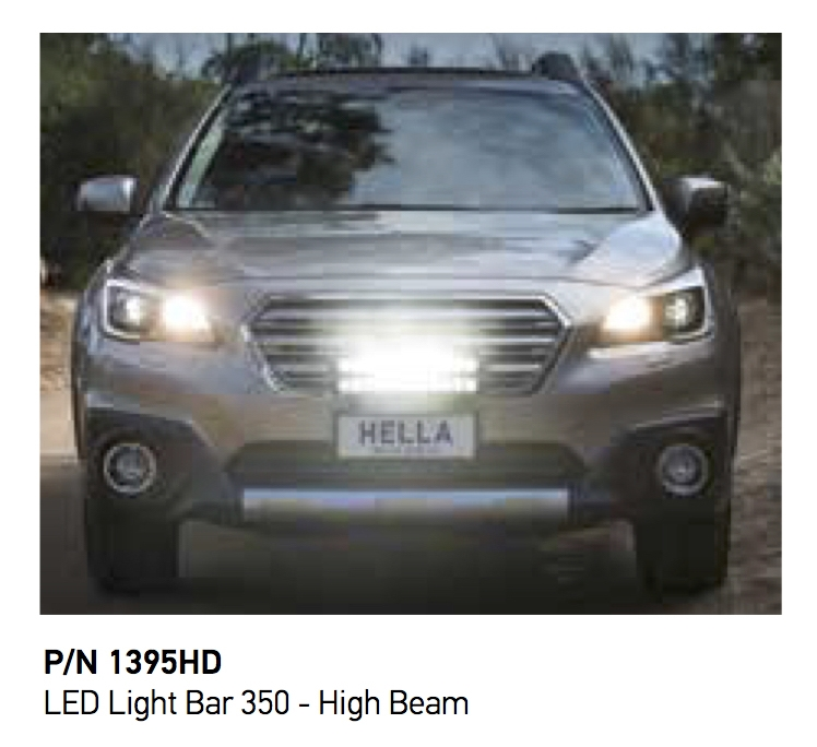 Hella 350mm hd bar hawk high beam led light bar autoelec warehouse rrp 42434 inc gst mozeypictures Image collections
