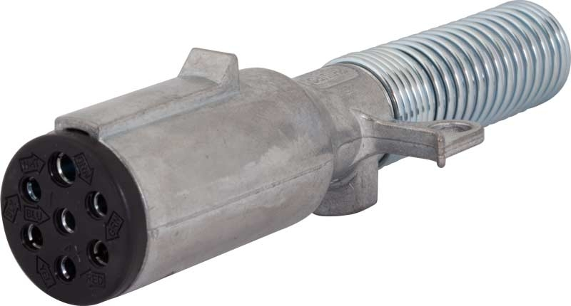 Phillips Heavy Duty 7 Pole Metal Trailer Plug