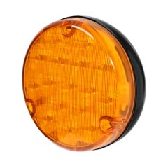 LED Rear Direction Indicator Lamp  - Black Base