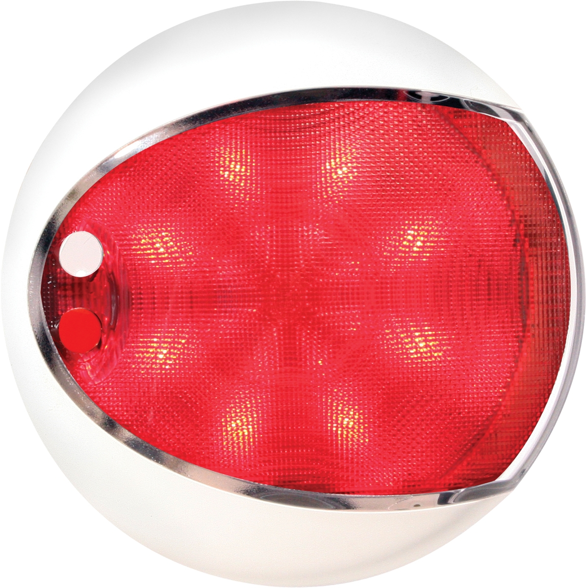 Red White Euroled Touch Lamps Shroud