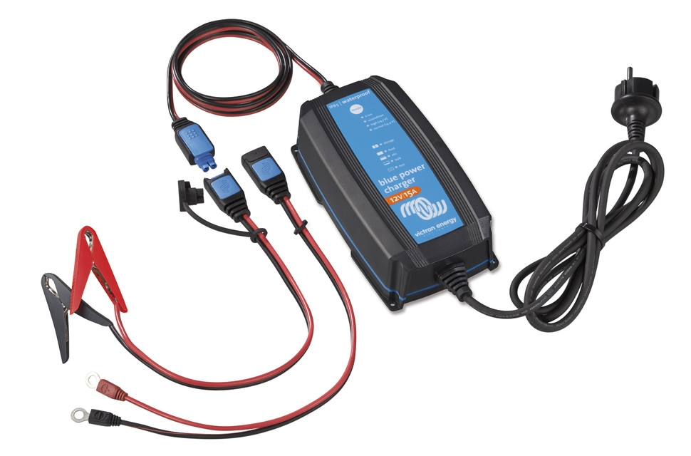 Victron Energy Blue Power 12v  15a Battery Charger