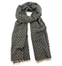 Pure Cashmere Stole Jacquard Diamond Delight