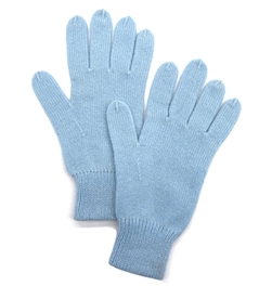 Cashmere Gloves Light Blue