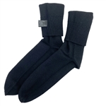 Black Cashmere Socks