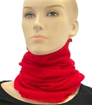 Pure Cashmere Neck Tube Red