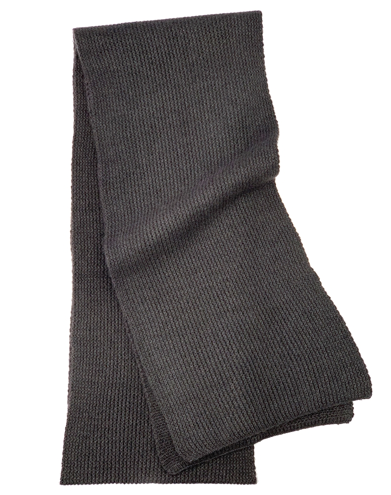 41e0d4637 Pure Cashmere Scarf In Charcoal For Man