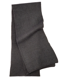 Charcoal Men's Cashmere Scarf