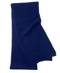 Midnight Blue Men's Cashmere Scarf