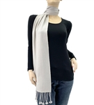 Light Grey Pashmina Scarf