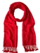 Red Pashmina Shawl 2 Ply