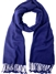 Midnight Blue  Pashmina Shawl 2 Ply