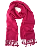 Hot Pink Pashmina Wrap 2Ply