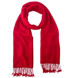 Red Pashmina Wrap 2Ply