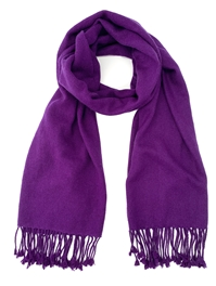 Purple Pashmina Wrap
