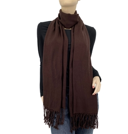 Dark Chocolate Ring Pashmina