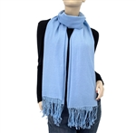 Light Blue  Ring Pashmina
