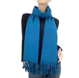 Moroccan Blue Ring Pashmina