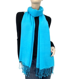 Blue Atoll Ring Pashmina