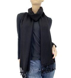 Black Ring Pashmina