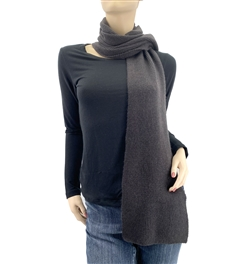 CharcoalCashmere Scarf