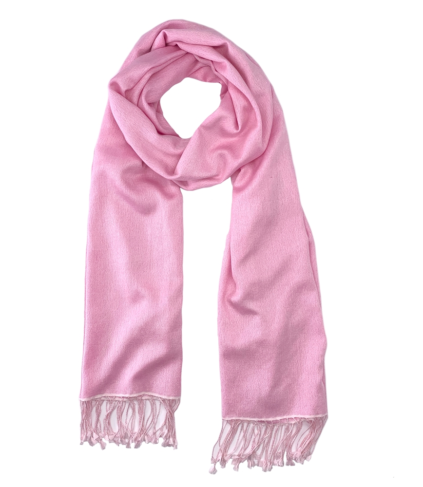 Pashmina Silk Wrap Light Pink