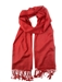 Pashmina Wrap Red