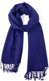 Midnight Blue Pashmina