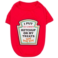 Ketchup Licker Dog Costume