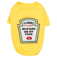 Mustard Licker Dog Costume