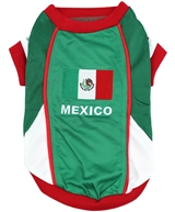 Team Mexico Jersey dog shirt