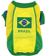 Team Brazil Jersey dog shirt