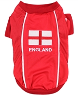 Team England Jersey dog shirt