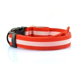 led collar red