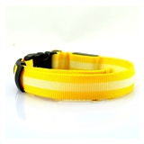 led collar yellow