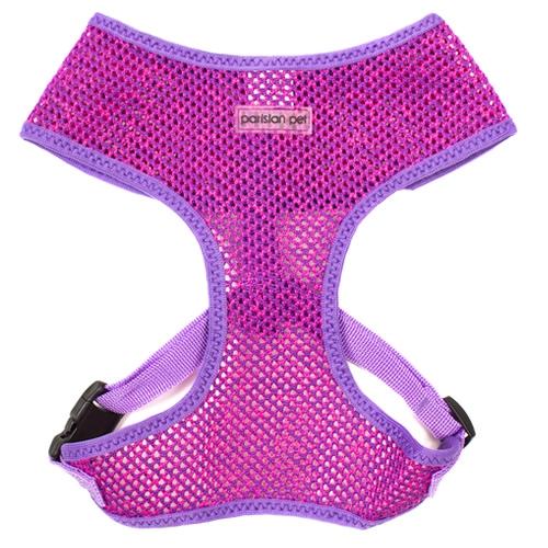 Sport Net Harness Purple-Pink | ParisianPet.com